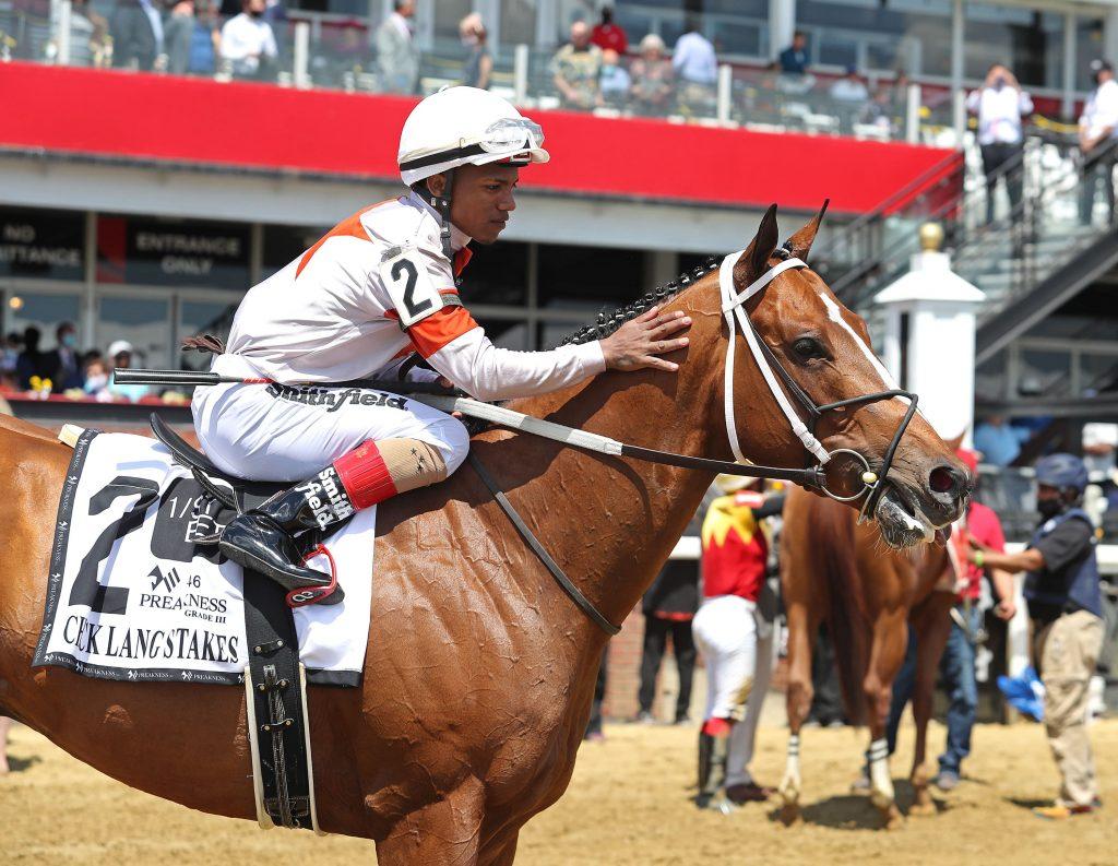 mighty mischief horse and jockey