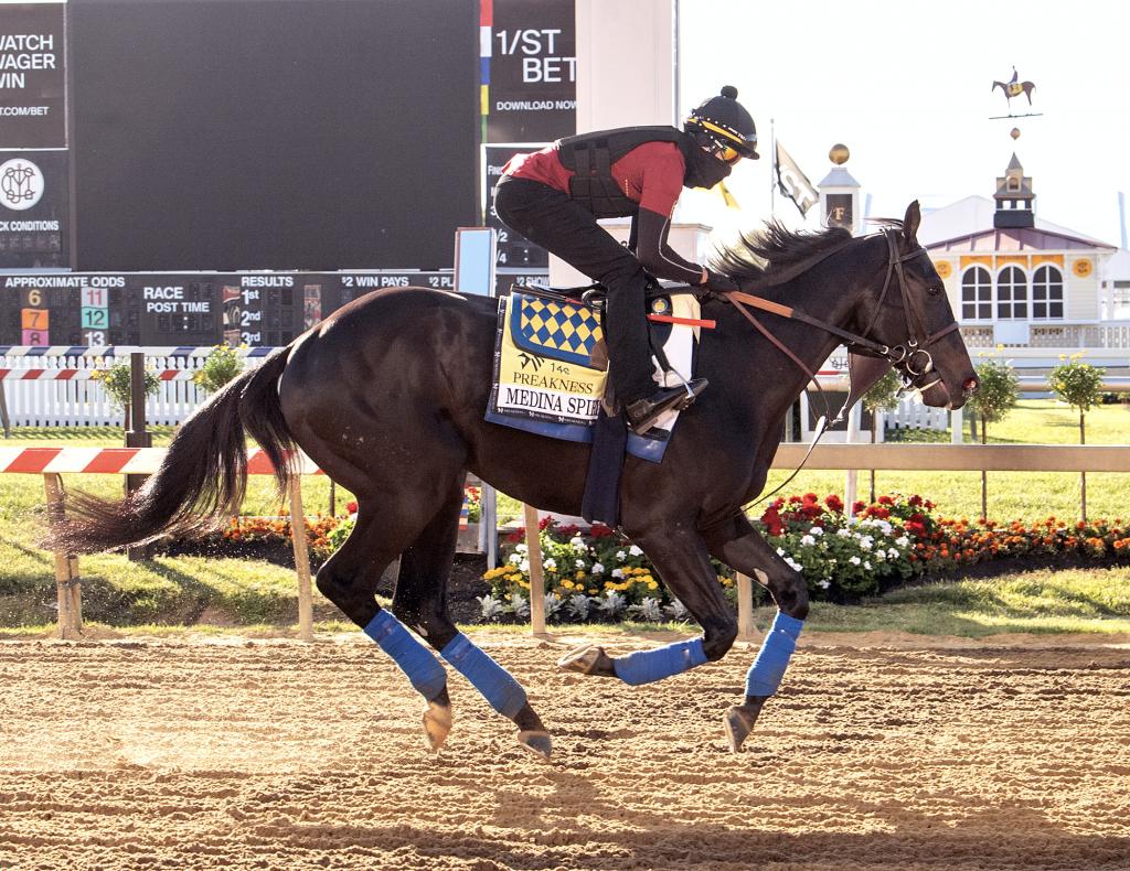 Medina Spirit Horse and Jockey Racing